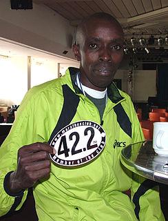Leonard Mucheru Maina Kenyan long-distance runner