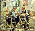 Leventis Gallery, Nicosia, Cyprus. Victor Ioannides - Card Players.jpg