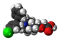 Levocetirizine 3D spacefill.png