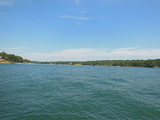 Lewis Smith Lake - View from the water