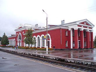 Lgov, Kursk Oblast - Lgov-Kiyevsky railway station in Lgov