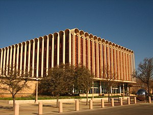 Texas Tech University College of Arts & Sciences - Image: Library of Texas Tech University IMG 0228