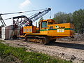 Liebherr SR714 welding tractor at Hoofddorp welding gaspipes, pic2.JPG