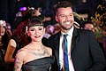 Life Ball 2014 red carpet 086 Christina Perri Ricky Martin.jpg