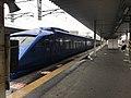 """Limited Express """"Sonic"""" arriving at Kashii Station.jpg"""
