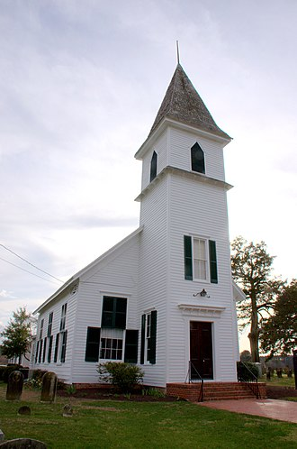 National Register of Historic Places listings in Wicomico County, Maryland - Image: Linda Roy Walls Asbury Church Wic MD2
