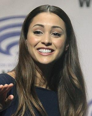 Lindsey Morgan - Lindsey Morgan at the 2016 WonderCon