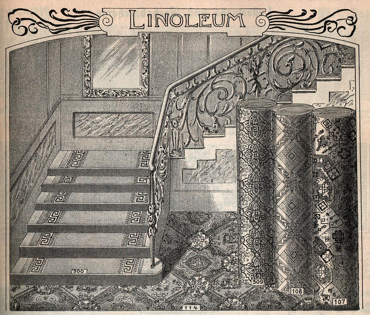 File Linoleum Graz 1900 Jpg Wikimedia Commons