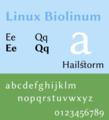 Linux Biolinum sample.png
