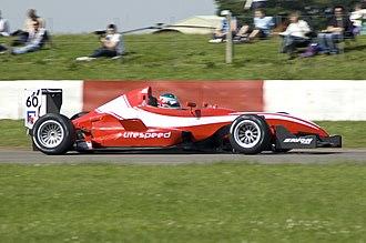 Litespeed F3 - Callum MacLeod driving the Litespeed Formula Three car at Snetterton in 2008.