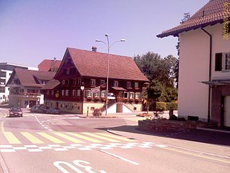Littau - Village center of Littau
