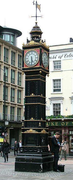 Little Ben - Little Ben, Victoria Street, London