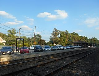 Little Falls station New Jersey Transit rail station