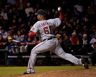 Liván Hernández - Hernández with the Nationals in 2010