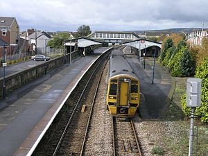 Llanelli railway station - Image: Llanelli Station geograph.org.uk 250679
