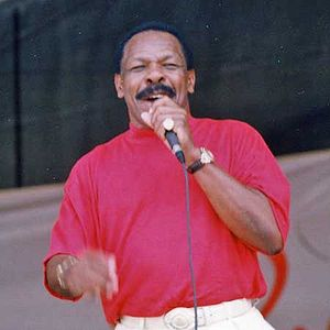 Lloyd Price - Price at New Orleans Jazz Fest in 1996