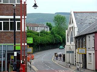 Llwynypia Human settlement in Wales