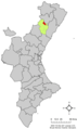 Localització de Benafigos respecte del País Valencià.png