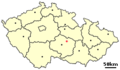 Location of Czech city Zdar nad Sazavou.png
