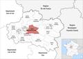 Locator map of Kanton Châteauneuf-sur-Loire 2019.png