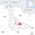 Locator map of Kanton Lunéville-1 2019.png