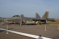 Lockheed-Martin F-22A-30-LM Raptor 05 107 LFrontSide Dawn SNF 04April2014 (14399750288).jpg