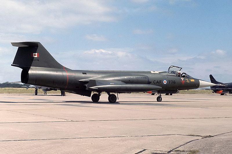 Lockheed CF-104 Starfighter
