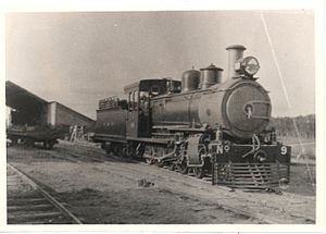 Society of Malawi, Historical and Scientific - Locomotive Number 9 at Limbe, May 1924