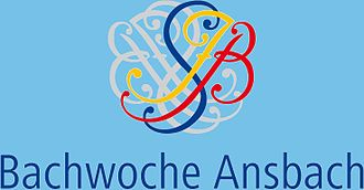 Bachwoche Ansbach - Image: Logo Bachwoche Ansbach