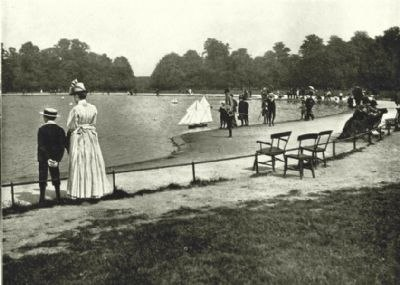 London-kensington-gardens-the-round-pond-antique-print-1896-146613-p(ekm)400x285(ekm)