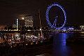 London Eye sur la Tamise - Moonlight Clair de lune - photo picture image photography (9585542350).jpg