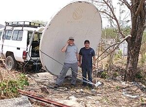 Long Distance 802.11 Wi-Fi - dish, Venezuela -...