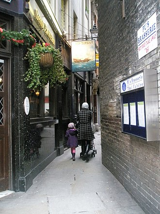 Great Turnstile - The Ship Tavern is a 16th-century public house on the corner of Little Turnstile and Gate Street.