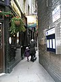 Looking from Gate Street into Little Turnstile - geograph.org.uk - 1651583.jpg
