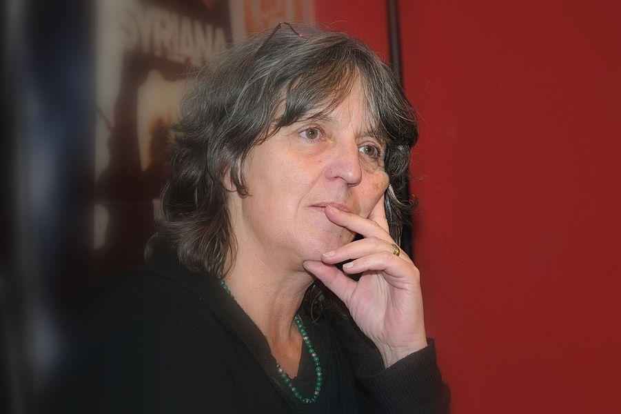 Déi däitsch Regisseurin Lorettta Walz bei der Virstellung vun hirem Film Die Frauen von Ravensbrück am Ariston zu Esch, November 2012.