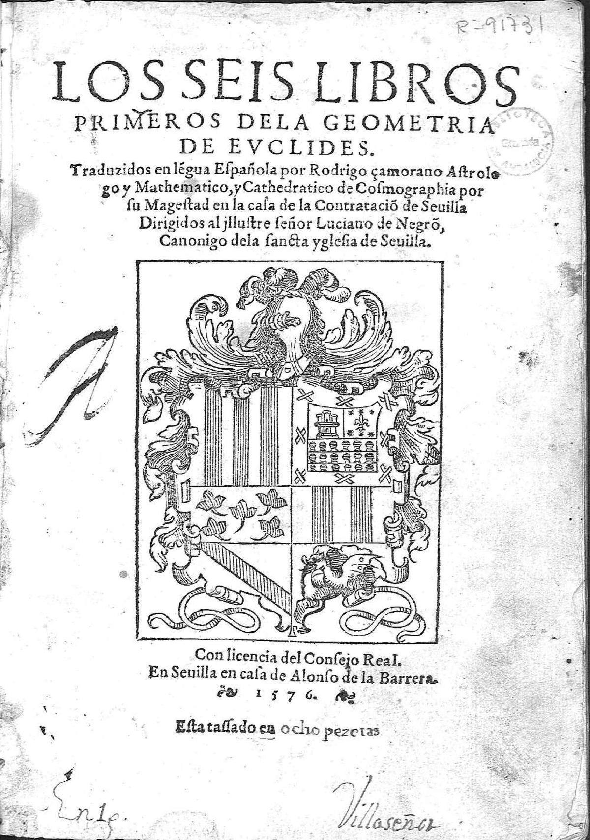 Elementos de Euclides - Wikipedia, la enciclopedia libre