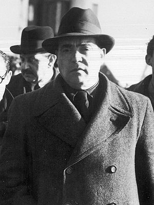 Wenceslao Carrillo - Wenceslao Carrillo in 1939, upon his arrival to the United Kingdom, fleeing from Franco's victory.