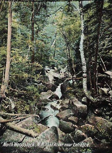 Lost River near Entrance