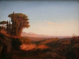 Alban Hills - Louis Gurlitt, Alban Hills (1850)