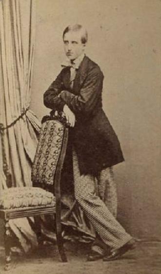 Louis d'Orléans, Prince of Condé - Louis d'Orléans, Prince of Condé around 1863