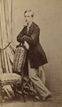 Louis d'Orléans, Prince of Condé in an anonymous photo in circa 1863.png