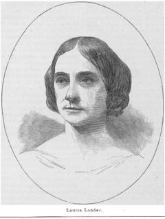 Louisa Lander American sculptor