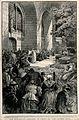 Lourdes, Haute Pyrénées, France; the shrine and sacred well. Wellcome V0012873.jpg