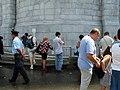 Lourdes collecting water 1.jpg