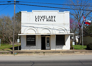 Lovelady, Texas City in Texas, United States