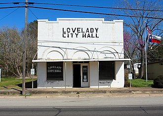 Lovelady, Texas - Lovelady City Hall