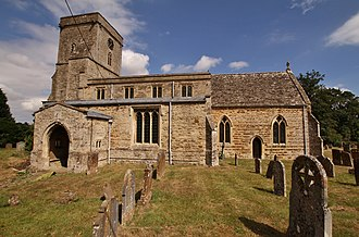 Lower Heyford - Image: Lower Heyford St Mary south