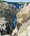 Lower Falls and Cascades, Grand Canyon of Yellowstone 2011 (32632322752).jpg