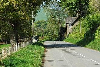 Llanegryn - Image: Lower road into Llanegryn 2009 geograph.org.uk 1508361