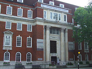 London South Bank University - Borough Road Entrance